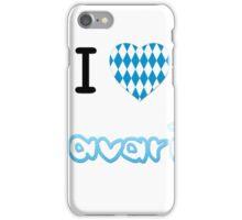 I love Bavaria iPhone Case/Skin