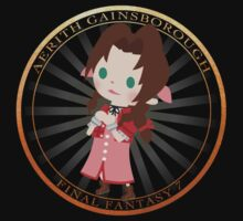 Aerith Final Fantasy Gold by Aiysle