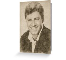 Jerry Lewis, Actor and Comedian Greeting Card
