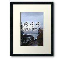 Sad Boys 2014 Framed Print