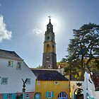 The Bell Tower at PortMeirion by relayer51