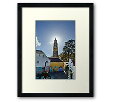 The Bell Tower at PortMeirion Framed Print