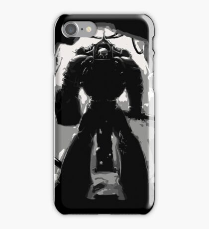 Chaplain Space Marines iPhone Case/Skin