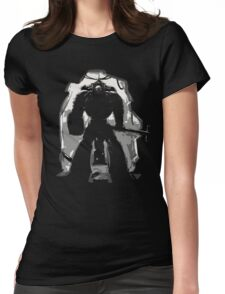 Chaplain Space Marines Womens Fitted T-Shirt
