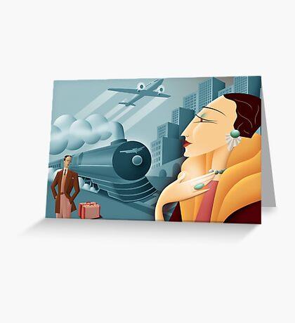 Deco  Greeting Card