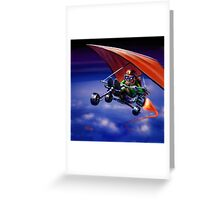 Born to Fly Greeting Card