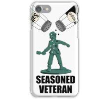 Seasoned Veteran iPhone Case/Skin
