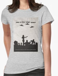 Plan 9 from Outer Space Womens Fitted T-Shirt
