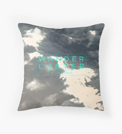 Wanderluster Throw Pillow