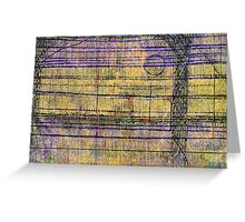 Linea Landscape Greeting Card