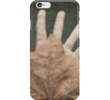 Hand of Nature iPhone Case/Skin
