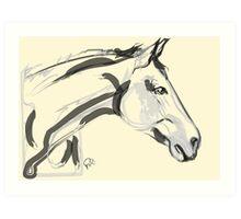 Horse - Lovely Art Print