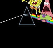 Spongebob and Patrick Pink Floyd by Kamerdra