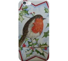 PERKY WEE FELLA - water colour iPhone Case/Skin