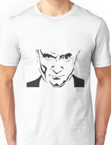 Pop music legend Phil Collins Graffiti stencil Unisex T-Shirt