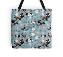 Funny cats in love  Tote Bag