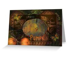 Artful Pumpkins Greeting Card