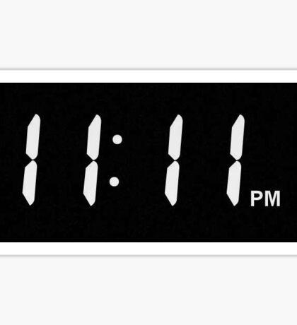 11:11 time Sticker