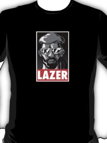 Major Lazer t shirt poster T-Shirt