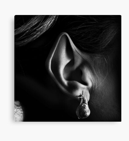 Wood Elf Ear Canvas Print