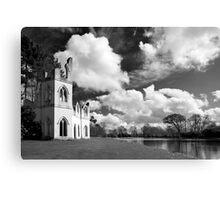 The Ruined Abbey Canvas Print