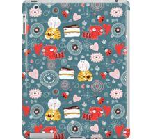 pattern of funny kittens  iPad Case/Skin