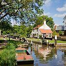 Thames Lock by Rachael Talibart