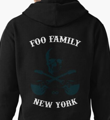 Foo Family New York (Sonic Highways edition) Pullover Hoodie
