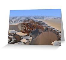 Desolate Planet Greeting Card