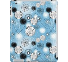 graphic texture of dandelions iPad Case/Skin
