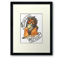 Long Live The King Framed Print
