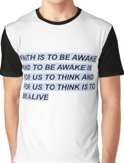 TØP car radio lyrics Graphic T-Shirt