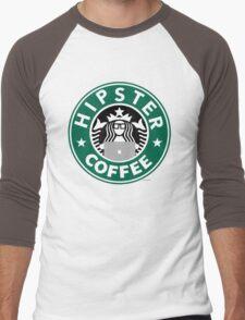 Hipster Coffee Men's Baseball ¾ T-Shirt