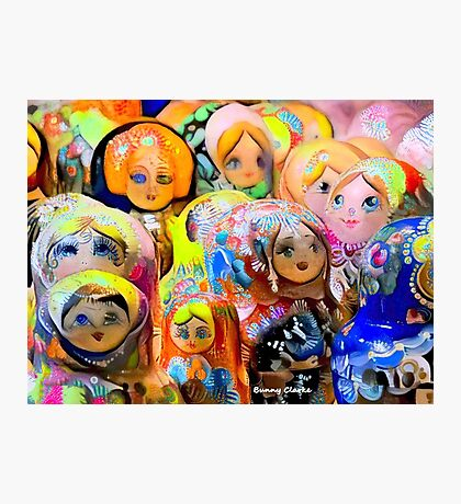 A Gaggle of Girls Photographic Print