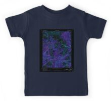 USGS TOPO Map California CA Tower Peak 301839 1956 62500 geo Inverted Kids Tee