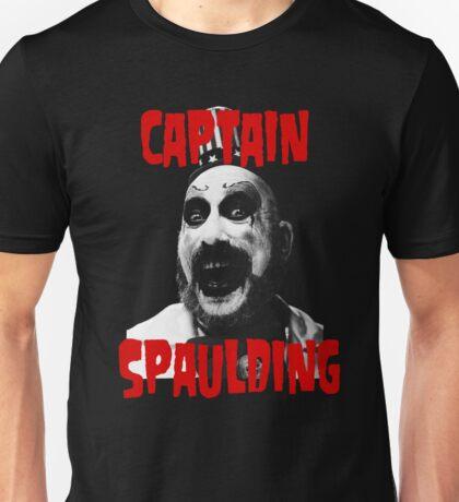 CAPTAIN SPAULDING -HOUSE 1000 CORPSES- Unisex T-Shirt