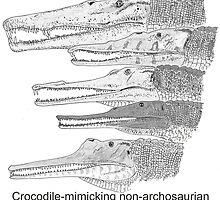 Phytosaurs! by TetZoo