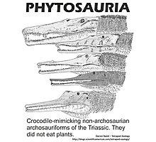 Phytosaurs! Photographic Print