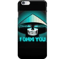 RAIDEN SKULL: I OHM YOU iPhone Case/Skin