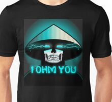 RAIDEN SKULL: I OHM YOU Unisex T-Shirt