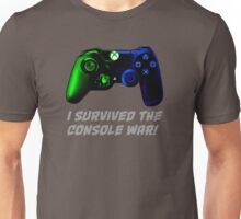 I survived the console war! Unisex T-Shirt