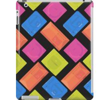 Sega neon (black) iPad Case/Skin