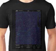 USGS TOPO Map California CA Willow Creek 20120229 TM geo Inverted Unisex T-Shirt