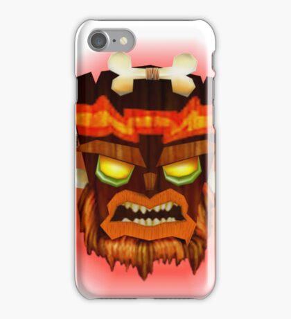 Uka Uka, Crash Bandicoot iPhone Case/Skin