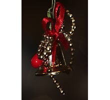 Christmas bell Photographic Print