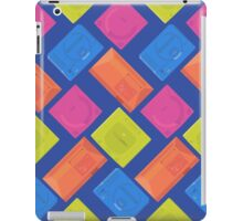 Sega neon (blue) iPad Case/Skin