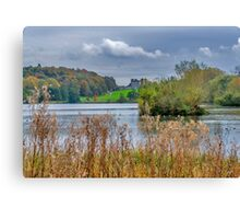Great Lake Castle Howard Canvas Print