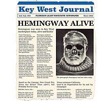 Hemingway Alive! Photographic Print