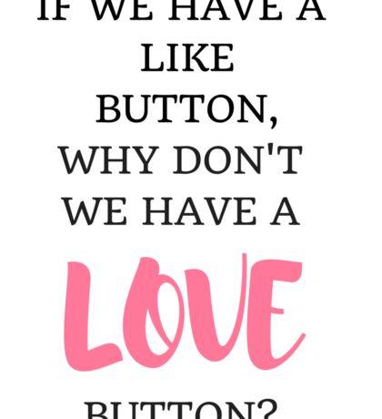 Like/Love Button Sticker