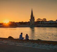 Twilight Zone, La Rochelle, France by Elaine Teague